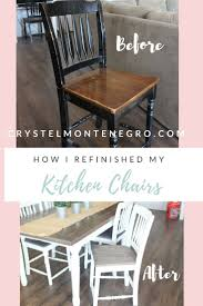 Kitchen Chairs by Best 25 Kitchen Chair Makeover Ideas Only On Pinterest