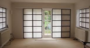 sliding panels room divider shoji screen design