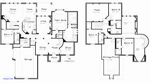 5 bedroom 2 story house plans simple 5 bedroom house plans best of simple 2 story house plans