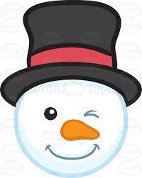 snowman head clipart 38