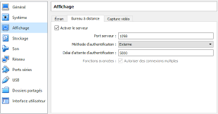 port bureau a distance bureau à distance sur une vm virtualbox par liightman openclassrooms