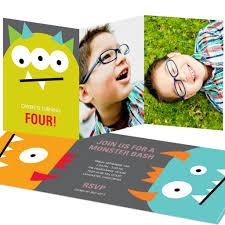 Kids Birthday Party Invitation Card Kid U0027s Monster Birthday Party Pear Tree Blog