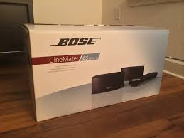 used bose home theater system bose cinemate gs series ii review youtube