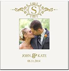 engraved wedding album personalized wedding photo albums our wedding day