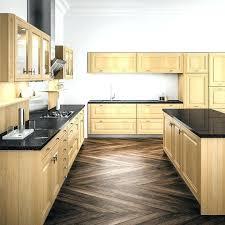 cuisine bois brut cuisine bois brut facade cuisine bois facade meuble cuisine bois