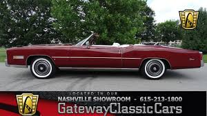classic cars convertible 1975 cadillac eldorado convertible gateway classic cars