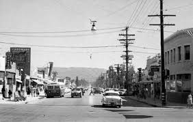 lighting stores in san fernando valley 1950 s sherman way looking south san fernando valley memories