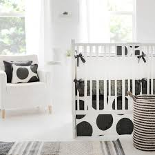 Black And White Crib Bedding Set Big Dots Gray Crib Bedding Set Rosenberryrooms