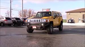 2006 hummer h3 indepth walk around and start up youtube