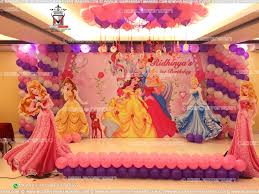 interior design creative birthday princess theme decoration home