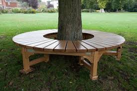 Plans For Making A Round Picnic Table by How To Build A Bench Around A Tree Diy Projects For Everyone