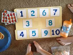 diy indoor games cars number matching file folder game made using a printer and