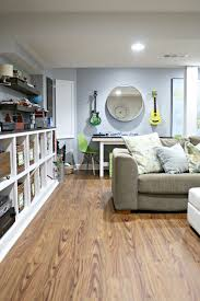 Allure Laminate Flooring Reviews The Perfect Basement Flooring And Other Fun Changes From Thrifty
