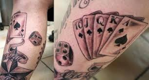 spade and ace of spade tattoos meanings designs and ideas tatring