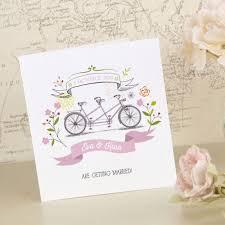 tri fold wedding invitations the bicycle tri fold wedding invitation wedding print