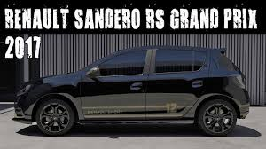 renault sandero 2017 renault sandero rs grand prix youtube