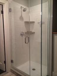 bathroom shower stall designs kitchen remodel shower stall edmondson plumbing and heating