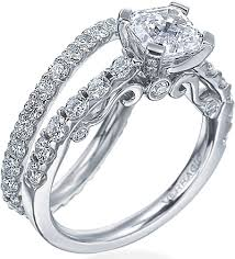 detailed engagement rings verragio brilliant detailed engagement ring ins 7001