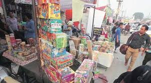 on crackers in delhi will see wholesalers dumping stock in punjab