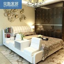 soft bed frame beds modern white leather platform beds colour genuine bed frame