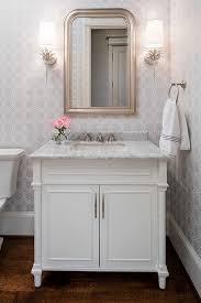 powder bath vanity create a smashing powder room traditional home
