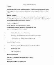 bartender resume format bartender resume format 63 images the world s catalog