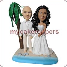 personalized cake topper sculpted wedding cake topper figurine personalized wedding