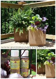 Painted Patio Pavers How To Make Patio Paver Planters Bystephanielynn