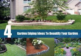 4 garden edging ideas to beautify your garden different types of
