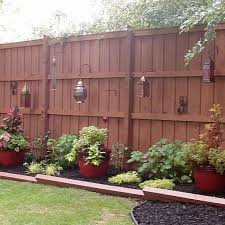 Landscaping Ideas For Backyard Privacy Reclaim Your Backyard With A Privacy Fence Planters Backyard