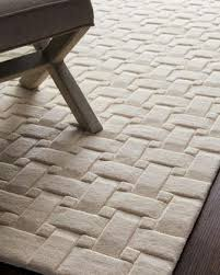 ivory rugs woven textures rug neiman