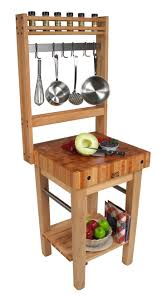 furniture using boos butcher block for fascinating kitchen boos butcher block pro prep table with hooks and towel bars for kitchen furniture ideas