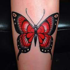 black and awesome butterfly tattoomagz