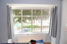 Bay Window Curtains How To Fit Bay Window Curtain Track Gopelling Net