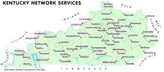kentucky map bardstown kentucky network servers by locality