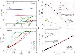 topological rpdbi half heusler semimetals a new family of