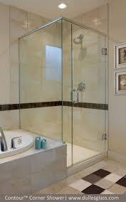 bathtub glass doors frameless 12 best corner shower doors images on pinterest corner shower