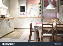 blurred background home kitchen light bokeh stock photo 332625284