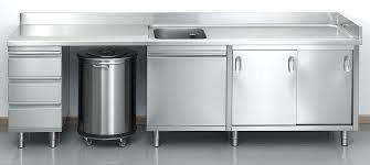 cuisines inox meuble de cuisine avec evier inox evier de cuisine avec meuble