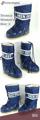 womens moon boots size 9 moon boots my parents use to a pair of yellow and navy moon