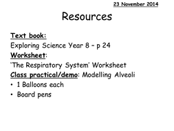ks3 the respiratory system by af7883 teaching resources tes