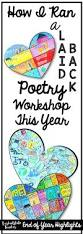 poetry workshop in 4th grades 5th grades how to run a laid back
