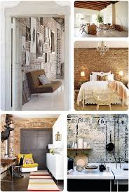 Home Interior Design Ideas Bedroom Best 20 Exposed Brick Bedroom Ideas On Pinterest Brick Bedroom