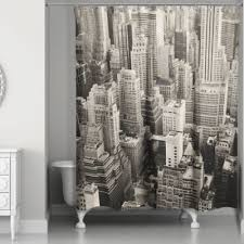 Black Grey And White Shower Curtain Buy Grey And White Shower Curtains From Bed Bath U0026 Beyond