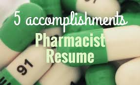 5 accomplishments to make your pharmacist resume stand out