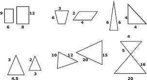 Similar And Congruent Figures Worksheet Finding Missing Lengths Of Similar Triangles
