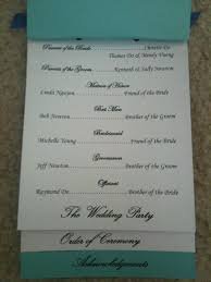 Diy Wedding Ceremony Program My Diy Layered Ceremony Programs W Template Diy Forum