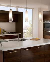 Single Pendant Lighting Over Kitchen Island by Kitchen Boasts Kitchen Floor Space With Alluring Tiles Design