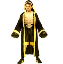 rocky balboa halloween costume kids boxer fancydress boxing like rocky balboa robe costume