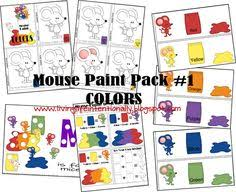 check out the color mixing ideas paint and model magic plus